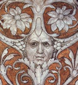 Camera degli Sposi autoritratto Andrea Mantegna