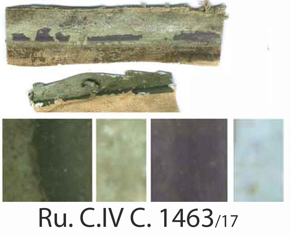 RU. C.IV 1463 17 Color Extraction by Gos