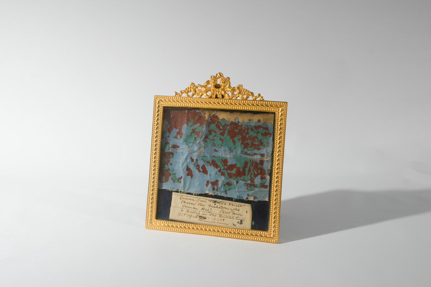 Richthofen Fabric Framed