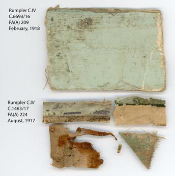 Comparing Rumpler C 6693 17 to C 1463 17
