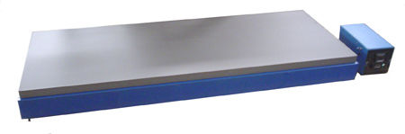 Uniform hot plate, with 72 X 24 in. heated surface