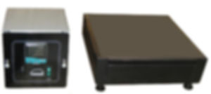 (Above) Teflon coated fittings and a corrosion-resistant flexible conduit connect the hot plate to a remote digital thermostat. All models feature operating temperatures up to 400C with good uniformity across the plate surface.  Wenesco hot plates meet the 2-inch clearance requirement under the housing for maximum air flow.