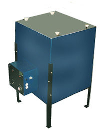MPU60X square melter shown with optional stand