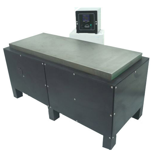 This natural gas powered hot plate features a 12 in x 37 in cast iron plate.  Overall height is 18 in.  Plate temperature is controlled with a remote digital thermostat. The housing is made from stainless steel