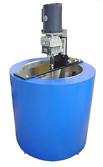 (Above) Model MU45. Shown with optional STR600A TEFC Stirrer