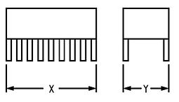 (Above) Simply tell us the X and Y dimensions of the components you want to desolder. We supply the nozzles to your specs