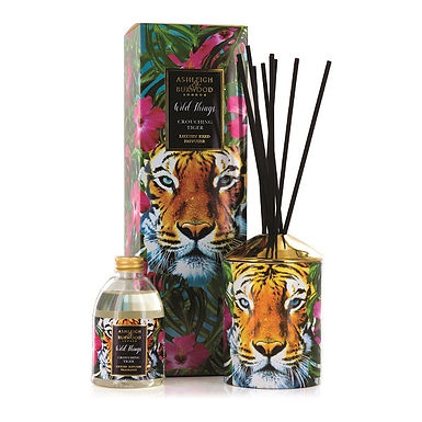 AB772 Crouching Tiger Wild Things 480ml Supersized Reed Diffuser