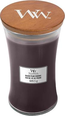 WW Black Plum Cognac large Candle