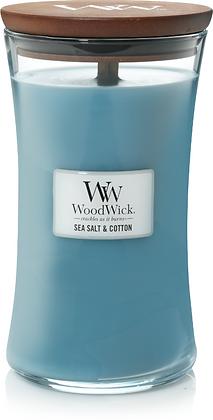 WW Sea Salt &Cotton Large Candle
