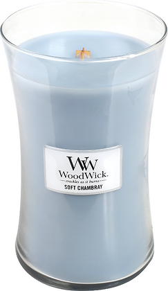 WW Soft Chambray Large Candle