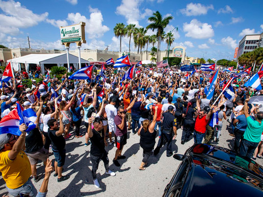 Cuba takes to the streets in protest