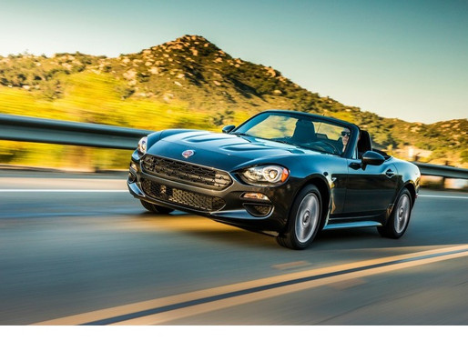 The Scintillating Fiat Spider 124 Roadster on AutoFOCUS Test Drive