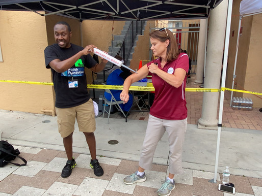 Power Moves: Health Foundation of SoFL supports vaccinations in underserved communities