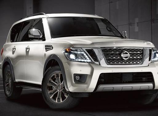 Nissan Armada: Big; bold; elegant