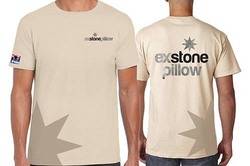 EXSP2020 Tan Cotton T / Shirt