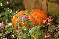 Ceramic Garden Pumpkin