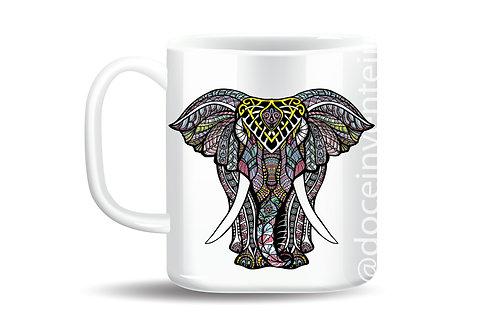 Caneca Personalizada Elefante