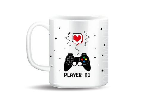 Caneca Personalizada Player 01