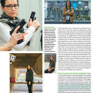 Donna Moderna chi sono le italiane con la pistola_Anna Catalano
