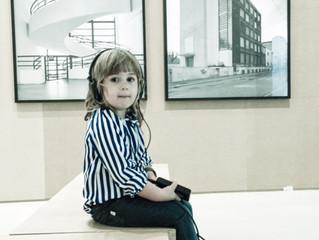 """Con mia figlia Giulia alla mostra """"EXTRAORDINARY VISIONS. L'ITALIA CI GUARDA"""""""