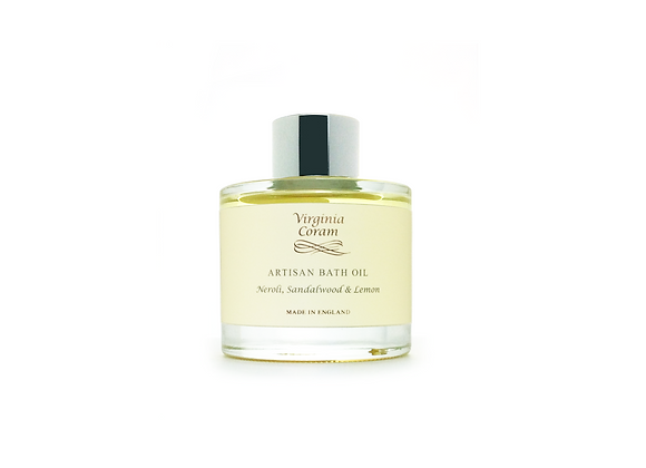 ARTISAN BATH OIL | NEROLI, SANDALWOOD & LEMON