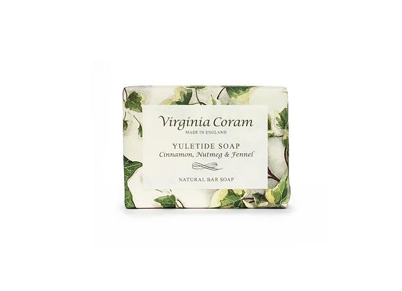 YULETIDE NATURAL BAR SOAP | CINNAMON, NUTMEG & FENNEL