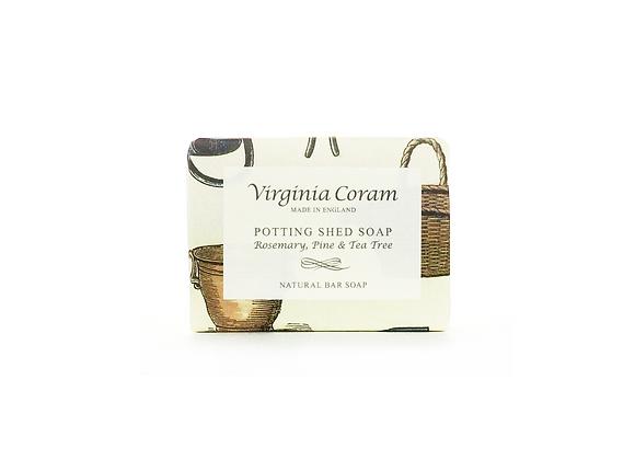 POTTING SHED NATURAL BAR SOAP | ROSEMARY, TEA TREE & PINE