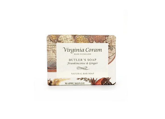 BUTLER'S NATURAL BAR SOAP | FRANKINCENSE & GINGER