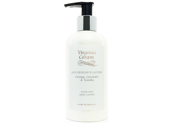 GOVERNESS'S HAND & BODY LOTION | ORANGE, LAVENDER & VANILLA