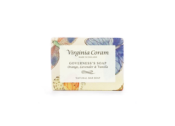 GOVERNESS'S NATURAL BAR SOAP | ORANGE, LAVENDER & VANILLA