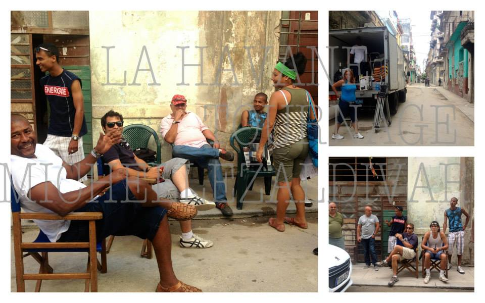 Tournage La Havane