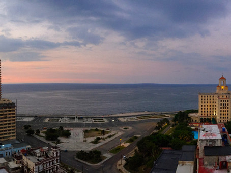 Hotel Nacional, vista desde el Capri.