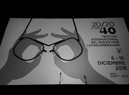 DECEMBER IN HAVANA, Cuba. Festival Internacional del Nuevo Cine Latinoamericano.