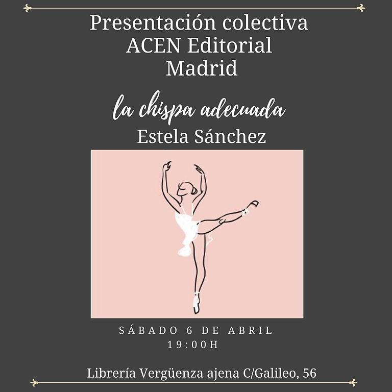 Presentación colectiva ACEN Editorial Madrid