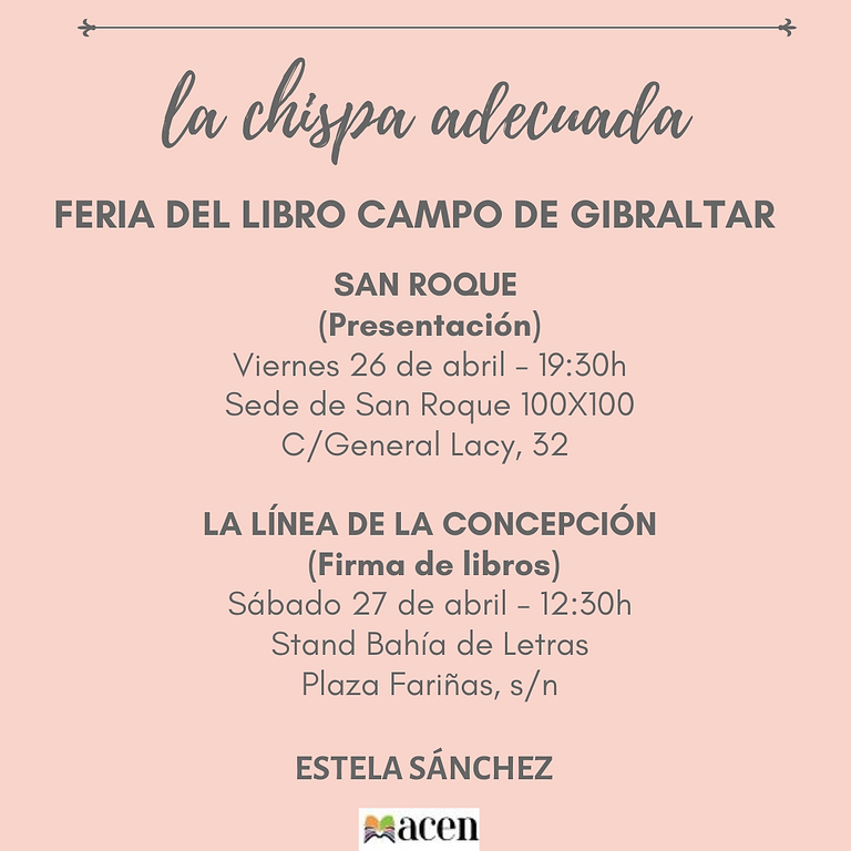 Feria del libro Campo de Gibraltar