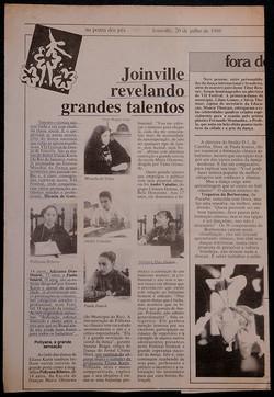 Joinville (Brazil), July 20th,1989