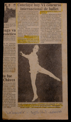 VI Internacional Ballet Competition