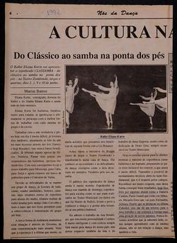 Highlighted in Cuballet 1992.