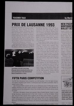Dance Magazine, May ,1993