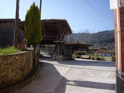 Vista del pueblo desde el portal
