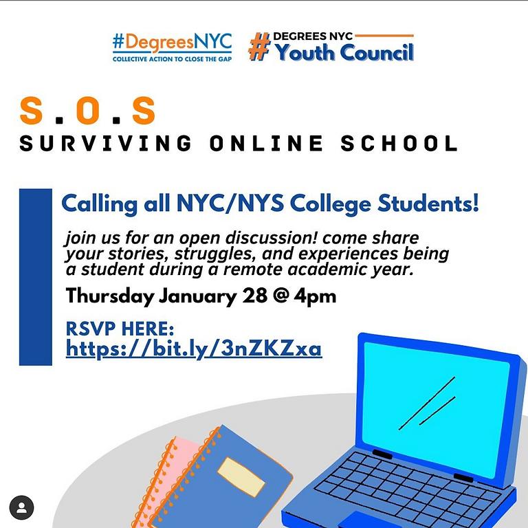 S.O.S (Surviving Online School) - College Students Forum
