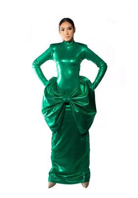 Authentic Spirit  Green Dress