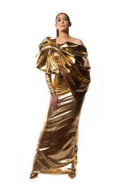 Authentic Spirit  Gold Dress