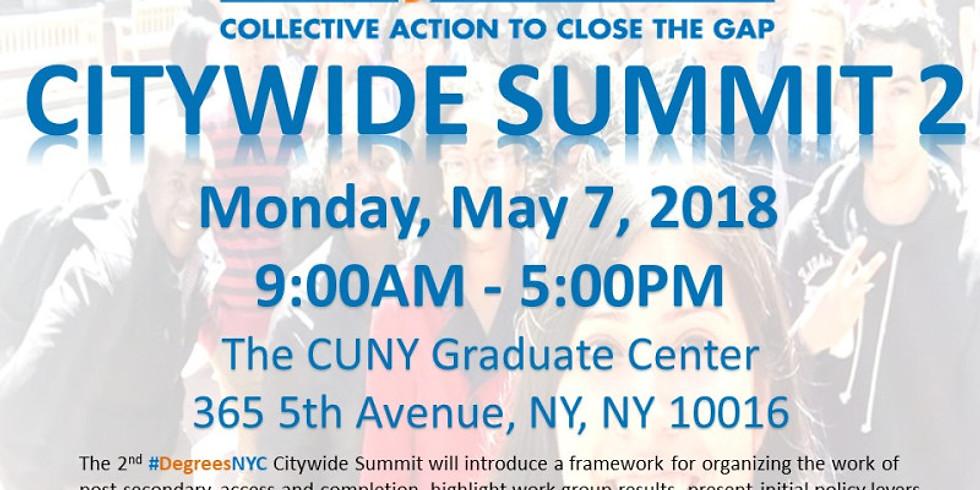 Citywide Summit 2018