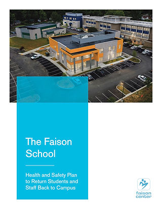 Health, Safety & Mitigation Plan for The Faison School.