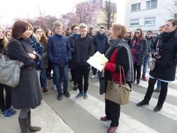 Lycéens de Salzgitter à Créteil