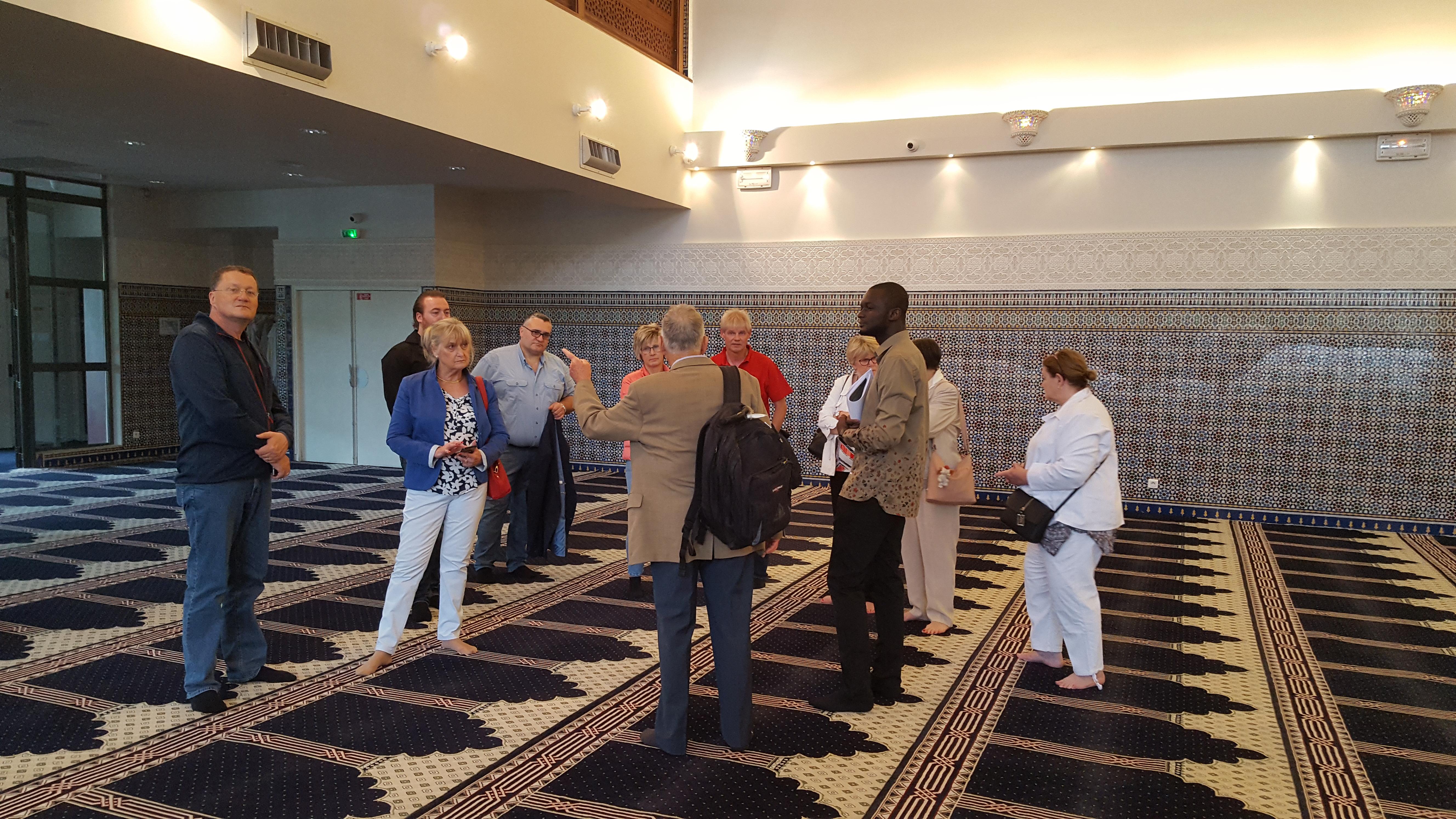 visite de la mosquée de Créteil