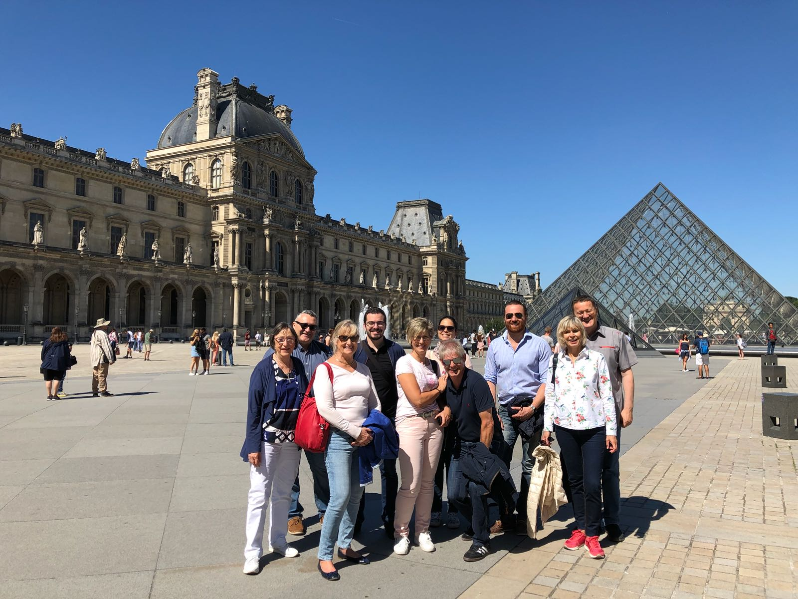 visite à Paris