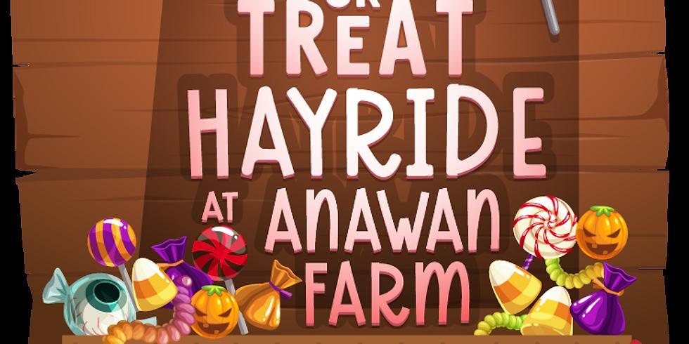 Trick or Treat Hayride (4-20 riders) Sun 10/25 10:30 AM