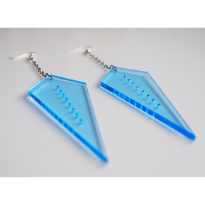 actetate earrings